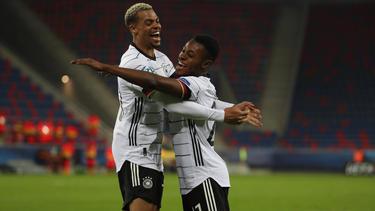 Nmecha und Baku schossen die Tore bei Deutschlands Sieg