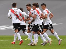 River Plate celebra su contundente victoria.