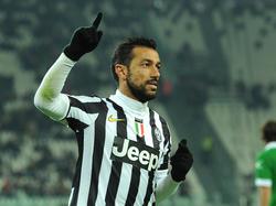 Fabio Quagliarella, attaccante della Juventus