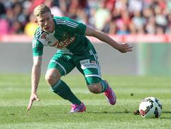 Florian Kainz hat den Ball fest im Blick
