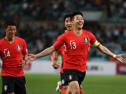 Heung-Min Son erzielt Tor bei Testspielsieg von Südkorea