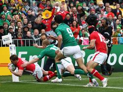 Halbfinalbegegnung der Rugby-WM 2011