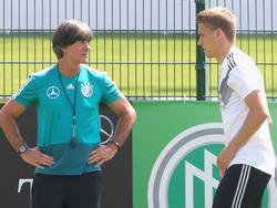 Bundestrainer Joachim Löw setzt gegen Österreich auf Nils Petersen
