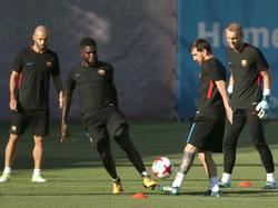 Samuel Umtiti und Lionel Messi kennen sich gut