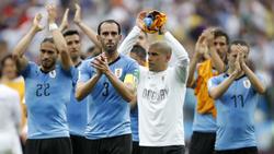 Uruguay tritt erhobenen Hauptes die Heimreise an