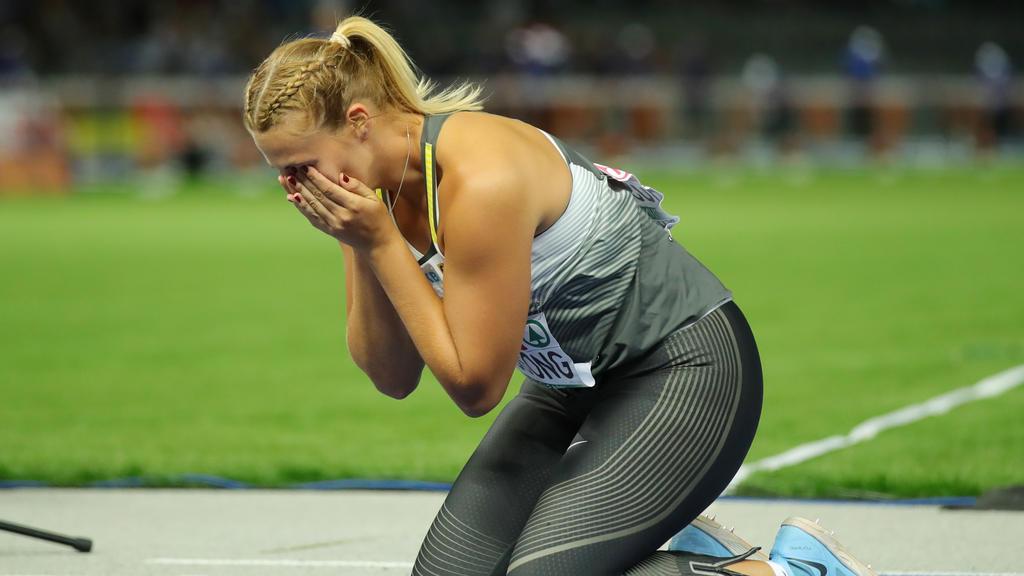 Christin Hussong ist neue Europameisterin