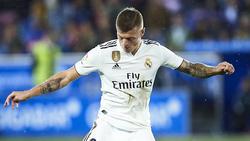 Toni Kroos steht nicht im Kader von Real Madrid