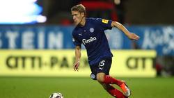 Johannes van den Bergh spielt weiter für Holstein Kiel