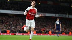 Aaron Ramsey steht vor einem Wechsel zu Juventus Turin