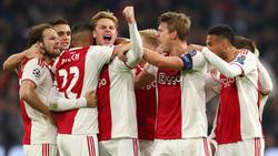 Ajax supera a todos los equipos europeos en goles anotados. (Foto: Getty)