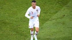 Cristiano Ronaldo musste gegen Serbien verletzt runter