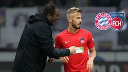 Niklas Dorsch freut sich auf das Duell im DFB-Pokal gegen den FC Bayern