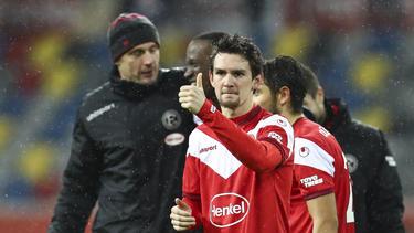 Benito Raman hat mit Fortuna Düsseldorf vorzeitig den Klassenerhalt geschafft