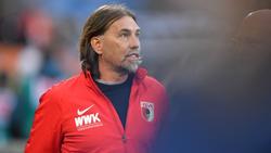 Kann sich eine Rückkehr von Martin Hinteregger vorstellen: Augsburg-Coach Martin Schmidt