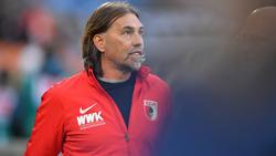 Martin Schmidt spricht vor dem Duell Schalke 04 gegen den FC Augsburg