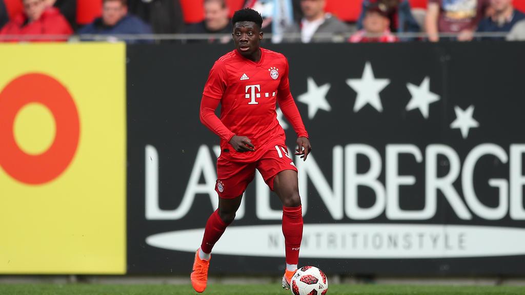 Alphonso Davies spielt seit Anfang 2019 beim FC Bayern