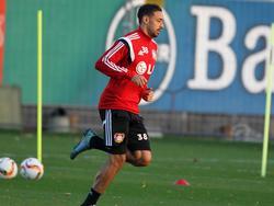 Karim Bellarabi hat das Mannschaftstraining wieder aufgenommen