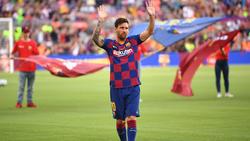 Der FCBarcelona muss vorerst auf Lionel Messi verzichten