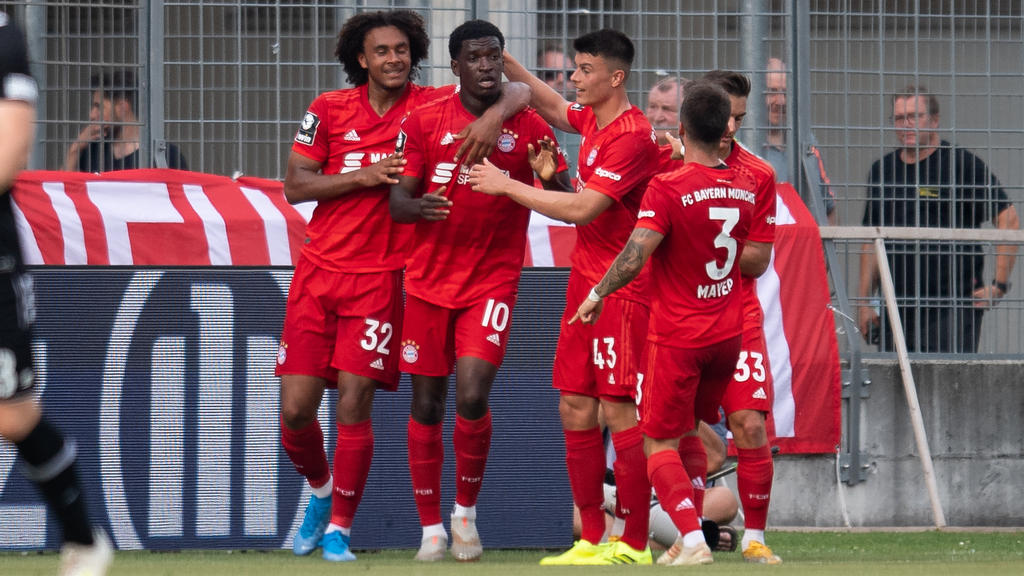 Der FC Bayern II feiert im zweiten Spiel den ersten Sieg der jungen Drittligasaison