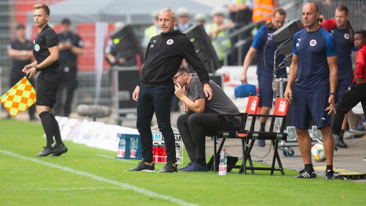 Pavel Dotchev und die Kölner gewannen gegen Chemnitz
