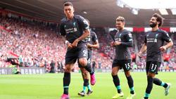 Roberto Firmino traf zum vorentscheidenden 2:0 für den FC Liverpool
