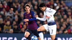 Der FC Barcelona kann Juan Miranda (l.) schon im kommenden Sommer zurückholen
