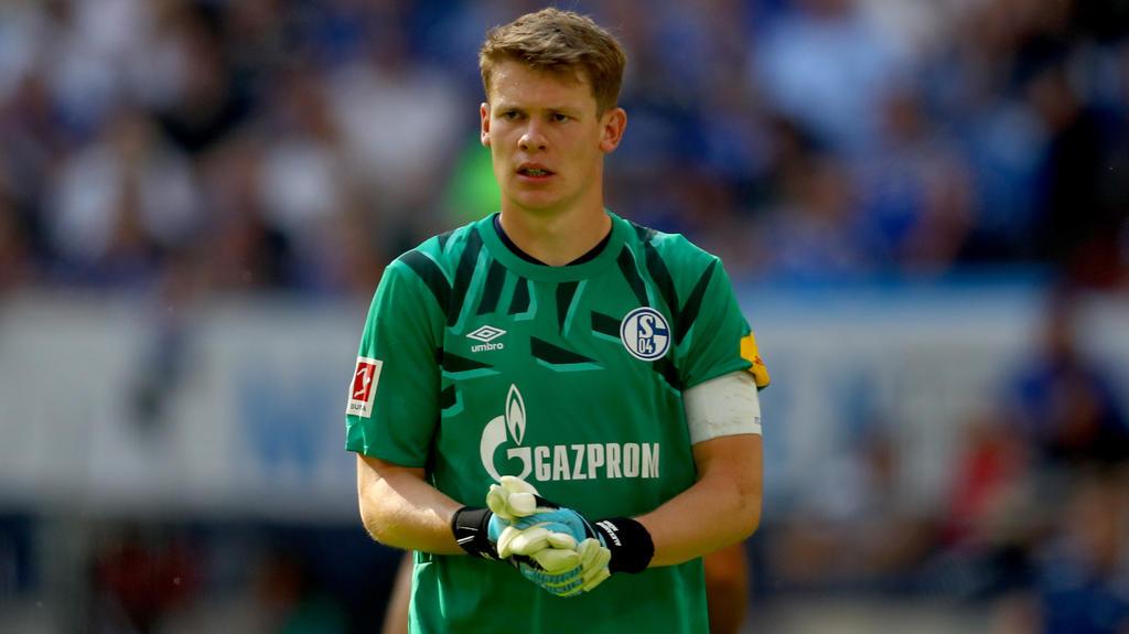 Alexander Nübel trifft mit dem FC Schalke 04 auf den BVB