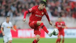 Kai Havertz wird Leverkusen wohl vor Vertragsende verlassen