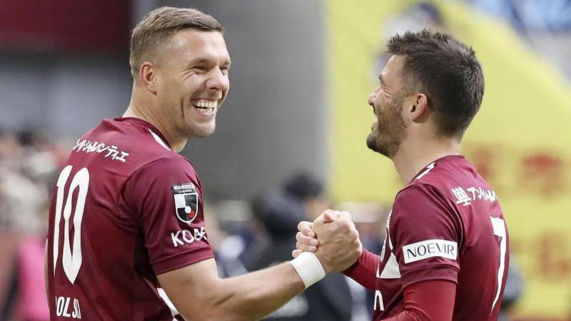 Wie geht es für Lukas Podolski (li.) weiter?