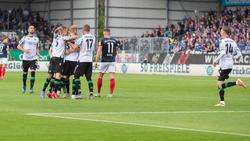 Holstein Kiel musste sich Hannover 96 geschlagen geben