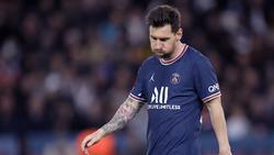 Lionel Messi tut sich bei PSG noch schwer