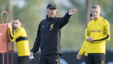 BVB-Coach Lucien Favre sieht sein Team noch nicht auf einem guten Weg