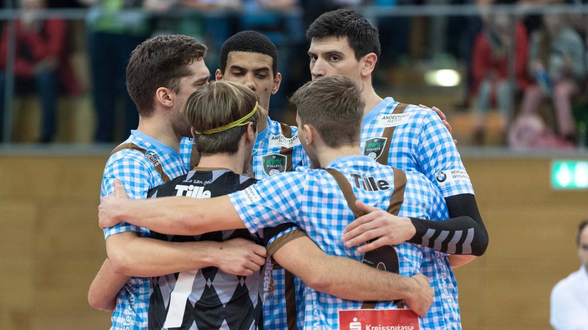 Die WWK Volleys Herrsching spielen bald in München