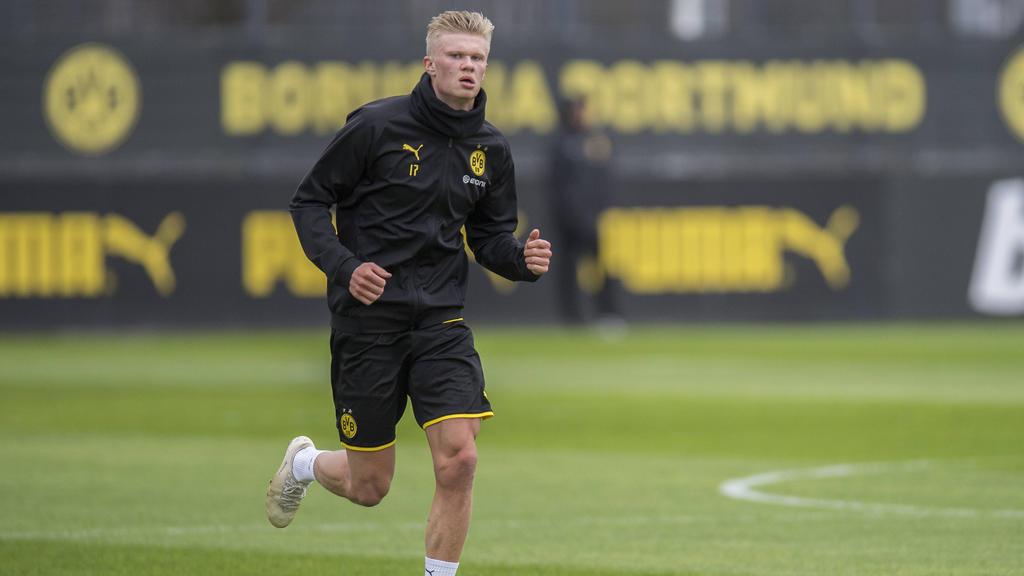 Erling Haaland bereitet sich mit dem BVB auf die Rückrunde vor