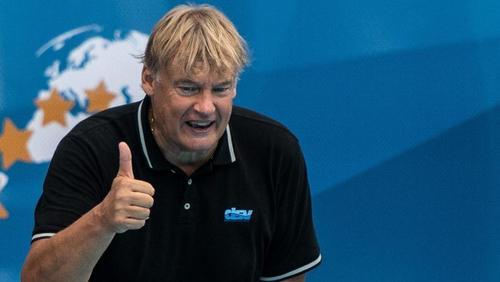 Muss für sein Team weiter Aufbauarbeit leisten: Wasserball-Bundestrainer Hagen Stamm