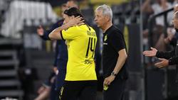 Nico Schulz (l.) hat beim BVB (noch) nicht sein Glück gefunden