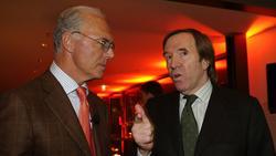 Wurden 1974 gemeinsam Weltmeister im eigenen Land: Franz Beckenbauer (l.)und Günter Netzer