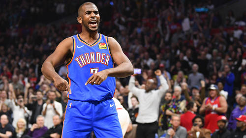 Chris Paul verlässt OKC