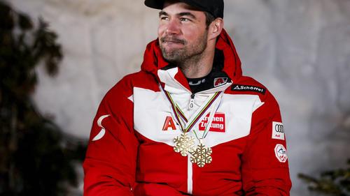 Vincent Kriechmayr holte bei der Ski-WM zweimal Gold