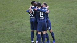 Die Spieler des VfL Bochum wollen in die Bundesliga aufsteigen