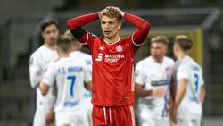 Fiete Arp wartet beim FC Bayern bislang vergeblich auf den Durchbruch