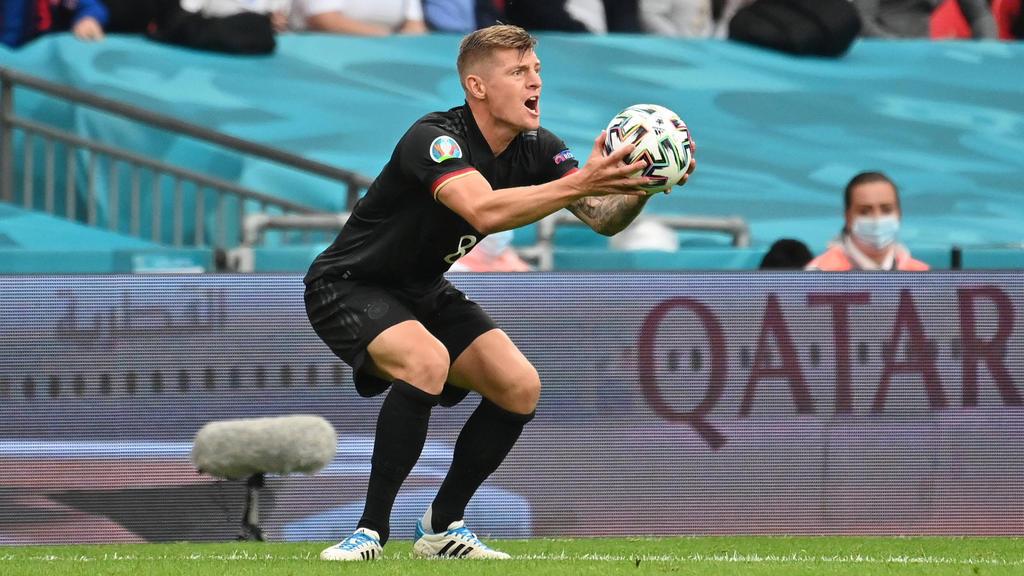 Toni Kroos steht Real Madrid bald wieder zur Verfügung