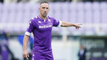 Franck Ribéry wird den AC Florenz wohl verlassen