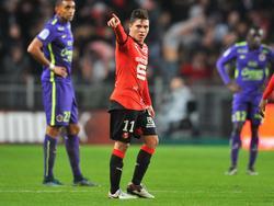 Quintero bringt Rennes in Führung