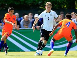 Niederlage für die deutschen U15-Junioren
