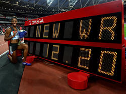 Harrison knackt den Weltrekord