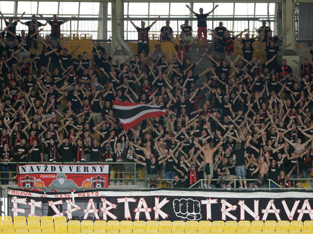 da18549da5 Risikospiel für Austria in Trnava. Viele Fans von Spartak Trnava waren zum  Europacup-Spiel gegen die Austria nach Wien mitgereist