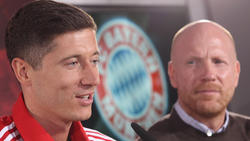 Sammer (r.) hat mit Lewandowski beim FC Bayern zusammengearbeitet