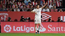 Bale ha conseguido la titularidad tras la marcha de CR. (Foto: Getty)