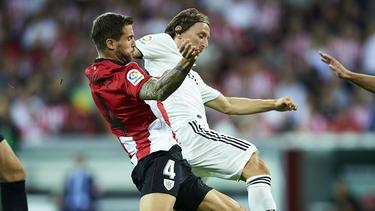 Luka Modric konnte sich mit Real Madrid nicht in Bilbao durchsetzen